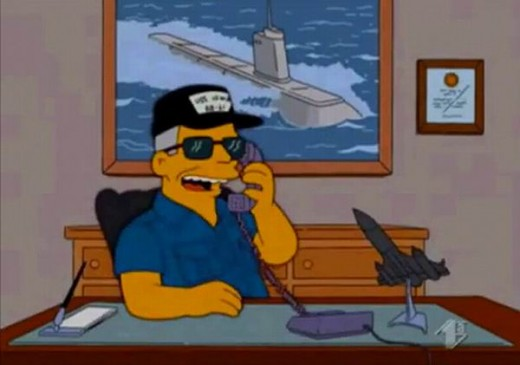 Tom Clancy (in The Simpsons)