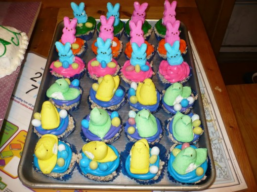 might I suggest cupcakes as a first peeps project?