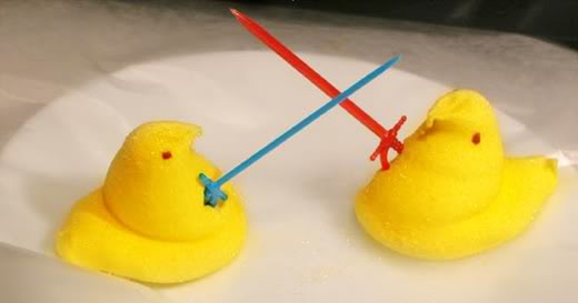 why the fighting? maybe they should give peeps a chance!