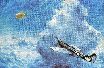 P51 Chasing A UFO