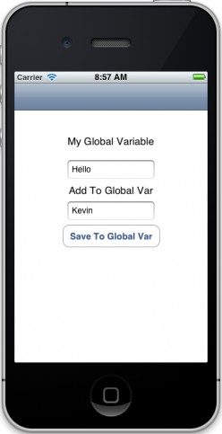 Figure 03 - Add Value to Global Variable