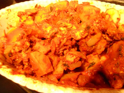 Aloo Gobi is a tasty side dish full of flavour