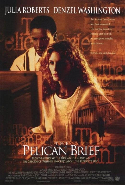 The Pelican Brief (1993) poster