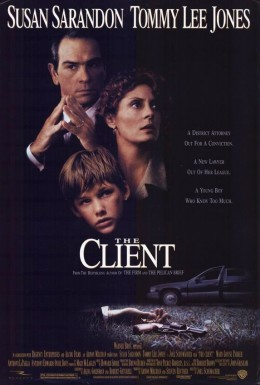 The Client (1994) poster
