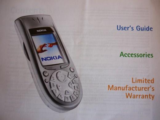 Handbook with phone