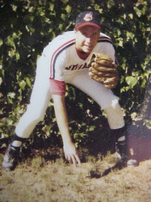 I was payed to play. Ventura Indians. League runner-up championship game.. My pitching record: 4-5 & 1 save Team record 10-11.