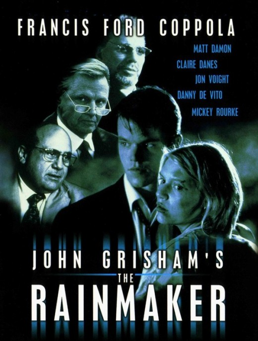 The Rainmaker (1997) poster