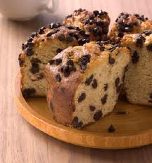 Starbucks Banana Chocolate Chip Coffeecake