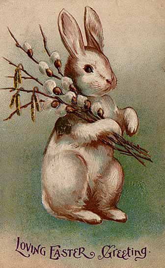 I love these nostalgic Easter greetings from days gone by.