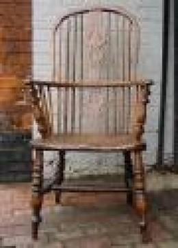 Antique chair. Flea market find