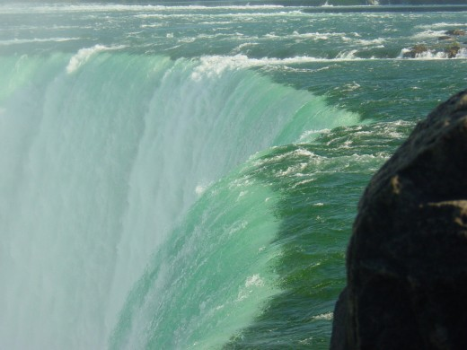 The magnificent Horseshoe Falls at Niagara Falls, Canada