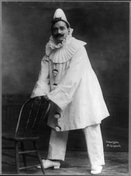 """Enrico Caruso in """"The Marriage of Figaro"""""""
