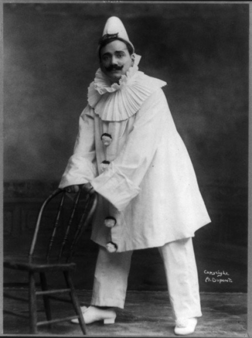 "Enrico Caruso in ""The Marriage of Figaro"""