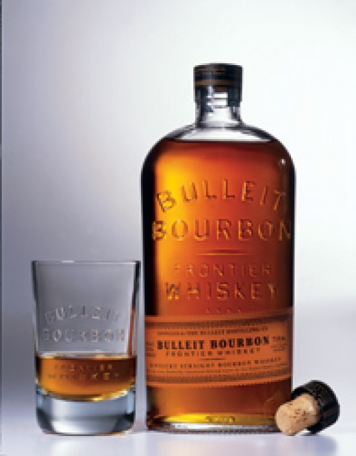 Bourbon straight from the bottle