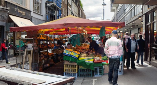 Berwick St Market, London