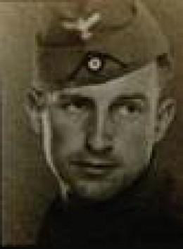Albrecht Becker In The German Army