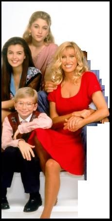 Carol and her kids Dana, Karen, and Mark