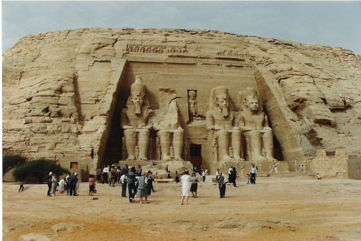 Abu Simbel. Temple of Ramesses II.