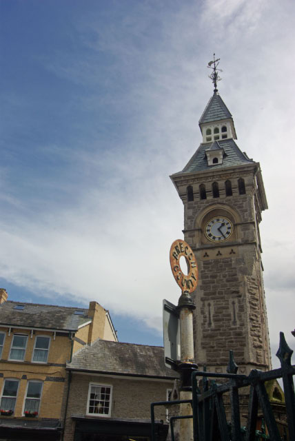 Clock tower, Hay-on-Wye