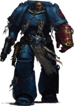 Pedro Kantor, Chapter Master of the heroic Crimson Fists