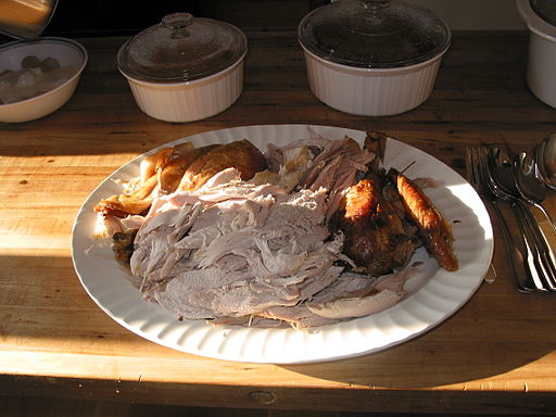 Oh, to have a taste of that smoked turkey!