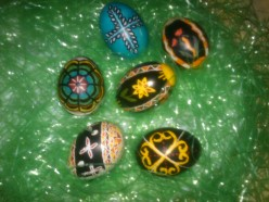 How To Make Ukrainian Easter Eggs With Children and Adults