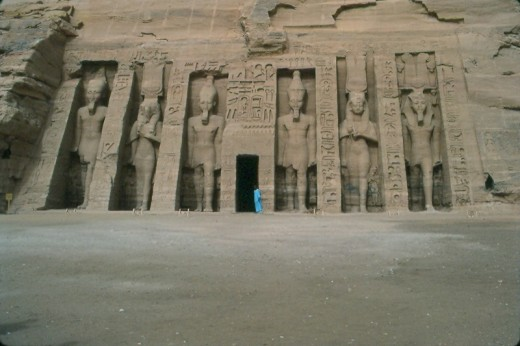 Temple of Nefertari, Abu Simbel.
