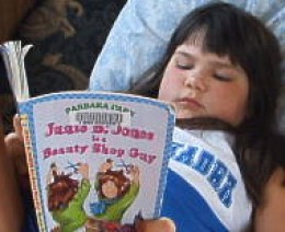 reading is fun with Junie B. Jones