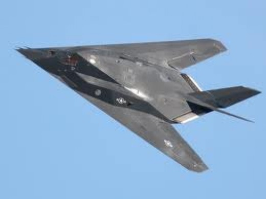 Fully swept back delta wings Stealth Aircraft for high speed and quick maneuverability