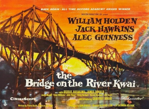 Bridge on the River Kwai poster - (private collection)