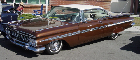 Classic (Chevy) 1959 Chevrolet Impala