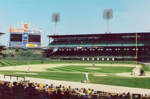 Old Comiskey Park in Chicago