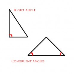 how to find 2 missing angles of a scalene triangle