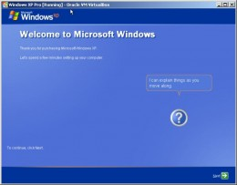 """After Setup reboots a second time, you will be presented with the """"Welcome to Microsoft Windows"""" screen"""
