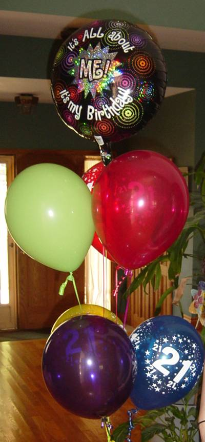 Celebrate Your Husband's Birthday with Balloons!