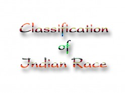 Classification of Indian Race