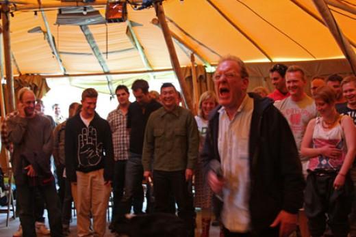 Phil Minton Feral Choir