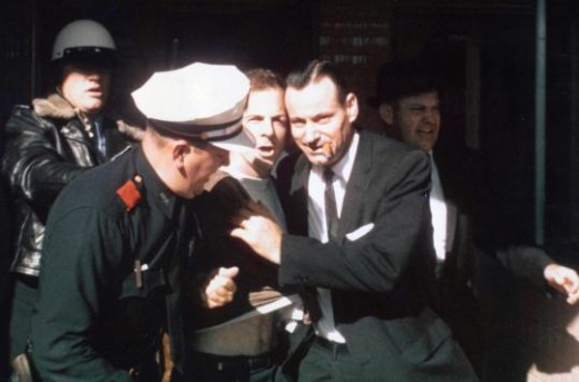 Lee Harvey Oswald's arrest.