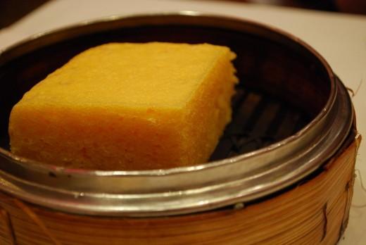 Steamed Sponge Cake - Dim Sum