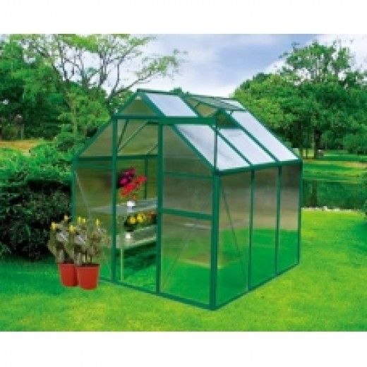 The 6'x6' greenhouses kits are simple for everyone to assemble, efficient, helps you save money on food and medical cost.