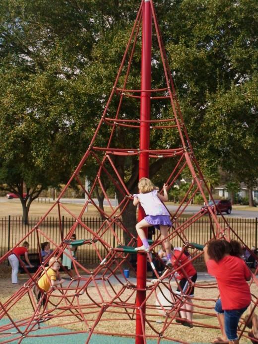 Go to the playground.