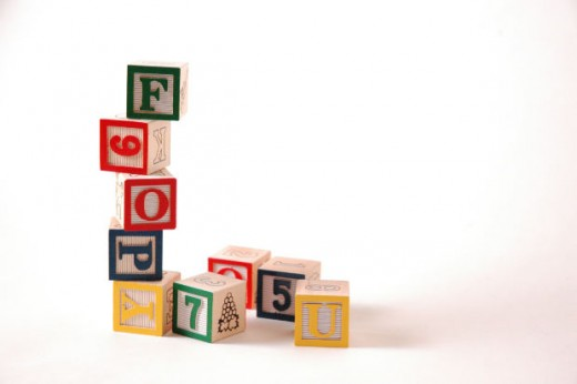Timeless toys like blocks are best for preschool kids.