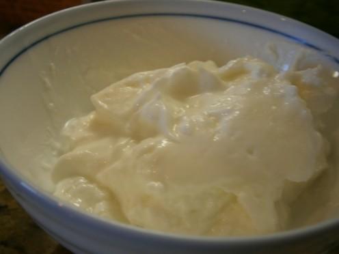 Greek yogurt is thicker and has more protein than regular yogurt.