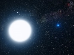 Which is the largest star?