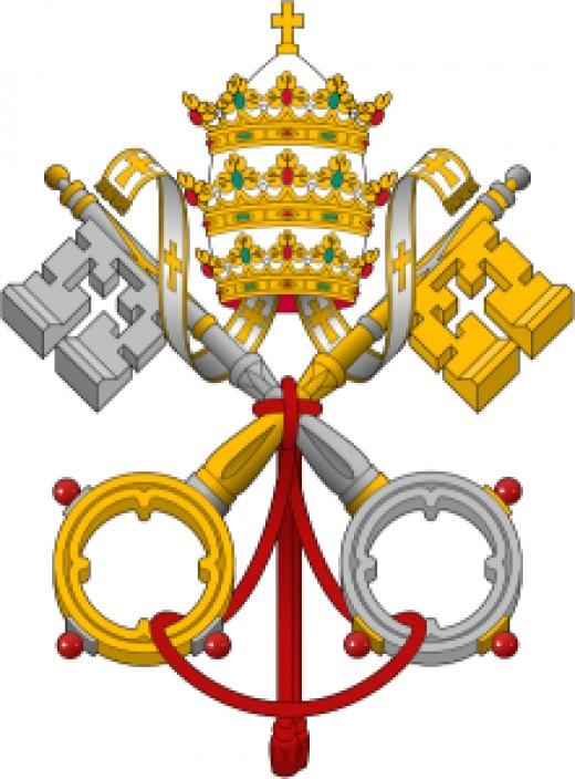 Vatican's Emblem The Catholic Church
