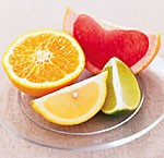 Avoid citrus and other acidic fruits when trying to get rid of acid reflux.