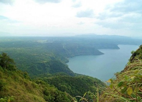 Breath-taking view from Mt Maculot