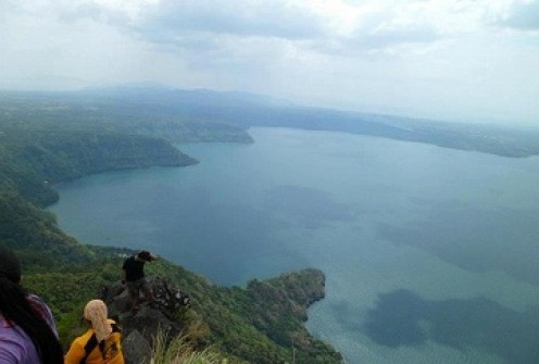 The terrific view of Taal Lake