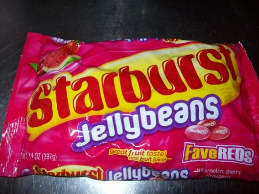 All red Starburst jellybeans is the best candy in the world