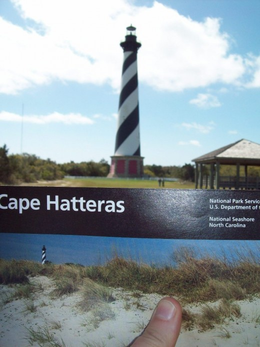 The spiraled lighthouse - Cape Hatteras Lighthouse Station